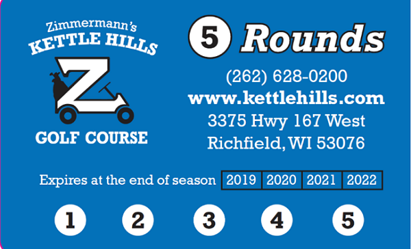 2019 Punch Cards for 2020 On Sale Now